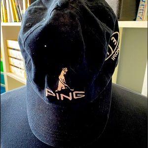 Ping baseball style hat